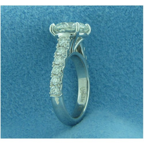 AFS-0200M Vintage Diamond Engagement Ring