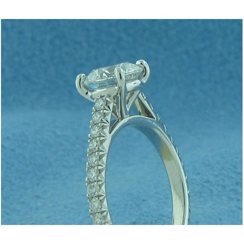 AFS-0202 Vintage Diamond Engagement Ring