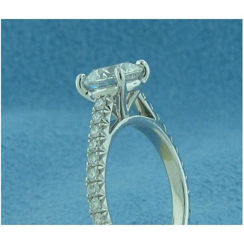AFS-0202 Vintage Diamond Engagement Ring