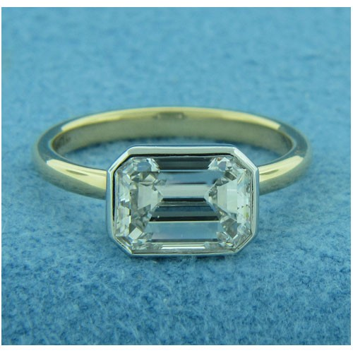 AFS-0209 Solitaire Engagement Ring