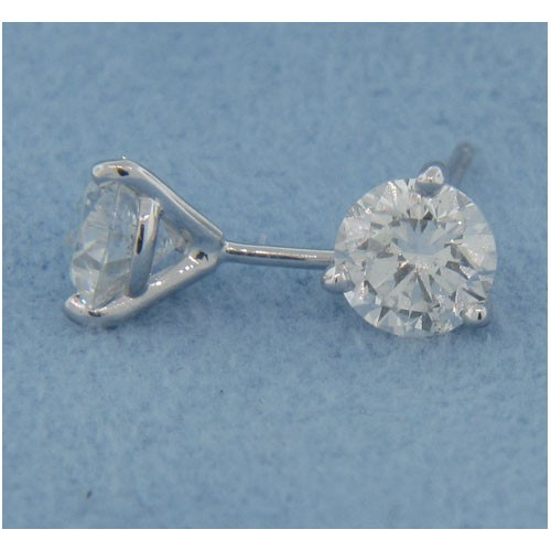 E1187 Diamond Stud Earrings