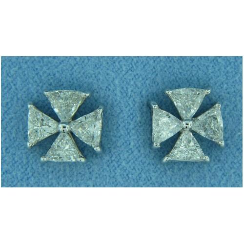 E1228 Diamond Earrings