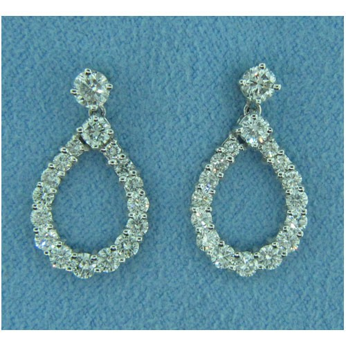 E1237 Diamond Earrings