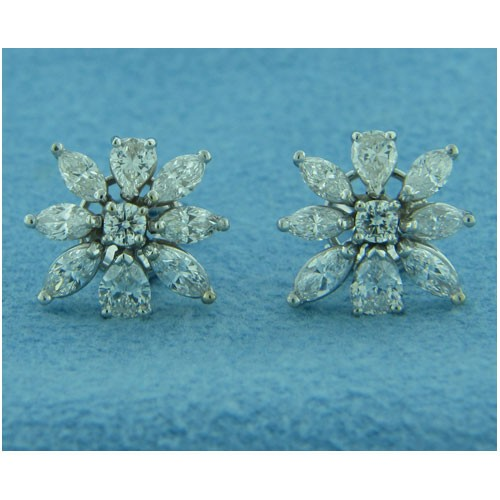 E1244 Diamond Earrings