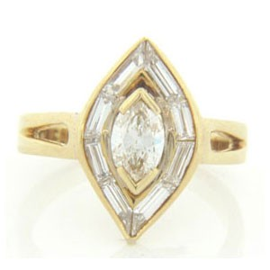 FS3638 Diamond Fancy Ring