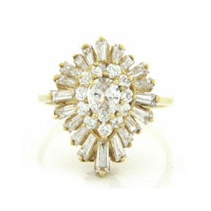 FS3884 Diamond Fancy Ring