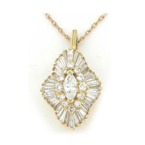 P3632 Diamond Pendant