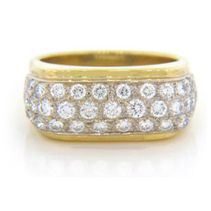 WB2518 Diamond Wedding Ring