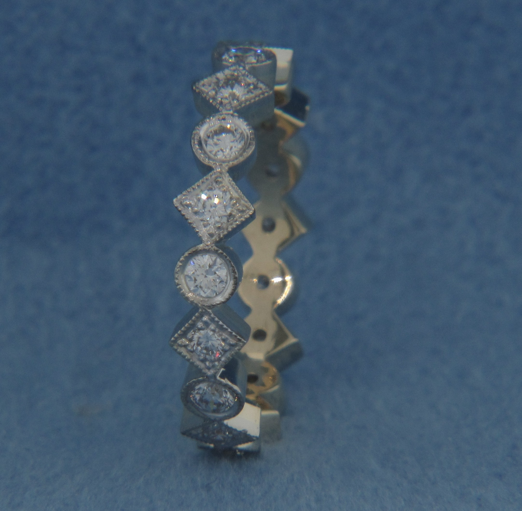 WB2762 Diamond Wedding Ring