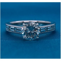 AFS-0030 Diamond Engagement Ring
