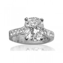 AFS-0051 Diamond Engagement Ring