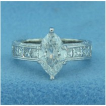 AFS-0055 Diamond Engagement Ring