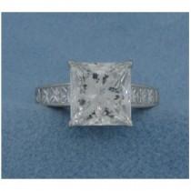 AFS-0061 Diamond Engagement Ring
