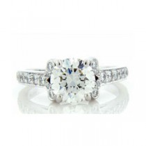 AFS-0076 Diamond Engagement Ring