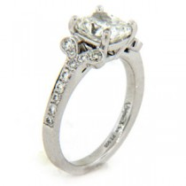 AFS-0076 Diamond Engagement Ring