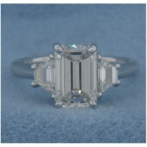 AFS-0094 Three Stone Diamond Engagement Ring