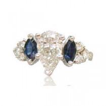 AFS-0104 Diamond Engagement Ring