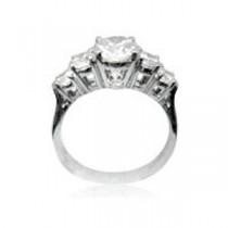 AFS-0108 Diamond Engagement Ring
