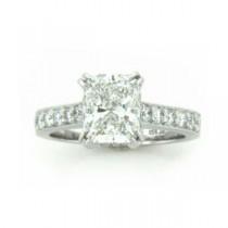 AFS-0125 Diamond Engagement Ring