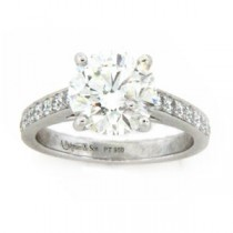 AFS-0131 Diamond Engagement Ring