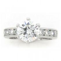 AFS-0161 Diamond Engagement Ring