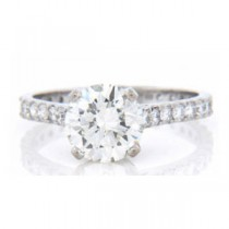 AFS-0138 Diamond Engagement Ring