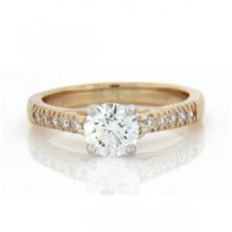 AFS-0146 Diamond Engagement Ring