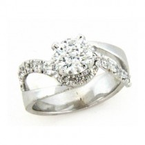 AFS-0153 Diamond Engagement Ring