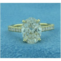 AFS-0197 Diamond Engagement Ring