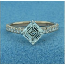 AFS-0212 Diamond Engagement Ring with Sidestones