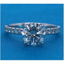 AFS-0219 Diamond Engagement Ring