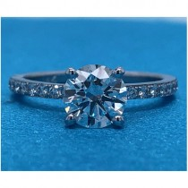 AFS-0220 Diamond Engagement Ring