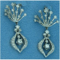 E0905 Diamond Drop Earrings
