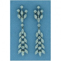 E1003 Diamond Drop Earrings