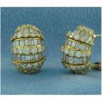 E1221 Diamond Earrings