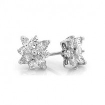 E1222 Diamond Earrings