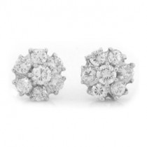 E1224 Diamond Earrings