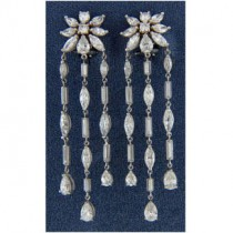 E1244 Diamond Drop Earrings