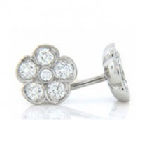 E1258 Diamond Earrings