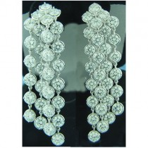 E1268 Diamond Drop Earrings