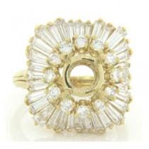 FS3631 Diamond Fancy Ring