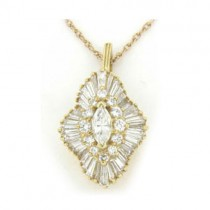 P3632 Diamond Pendant