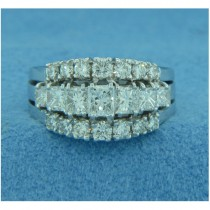 WB2634 Diamond Wedding Ring