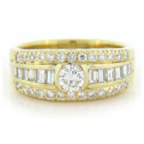 WB2712 Diamond Wedding Ring