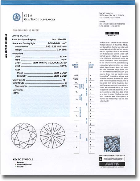 What is a gia certified diamond how to read a gia report check gia diamond grading report yelopaper Images