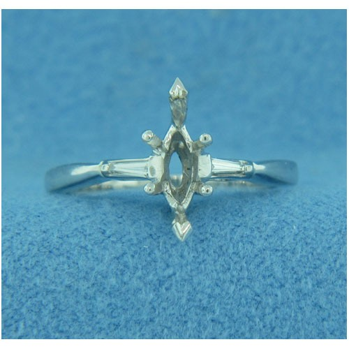 AFS-0014 Diamond Engagement Ring