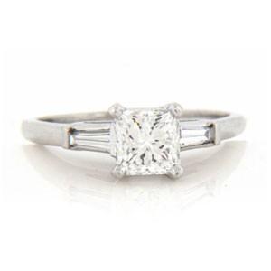 AFS-0021 Diamond Engagement Ring
