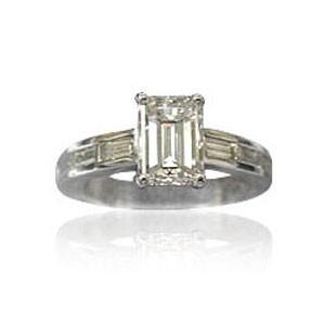 AFS-0030 Diamond Engagement Ring
