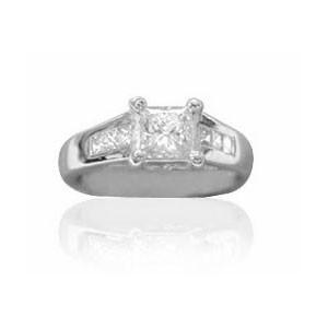 AFS-0035 Diamond Engagement Ring