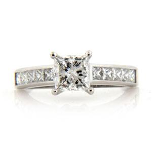 AFS-0036 Diamond Engagement Ring